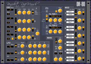 Synthstudio Pack DA-80