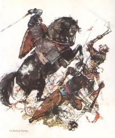 Victor Ambrus - Battle of Hastings
