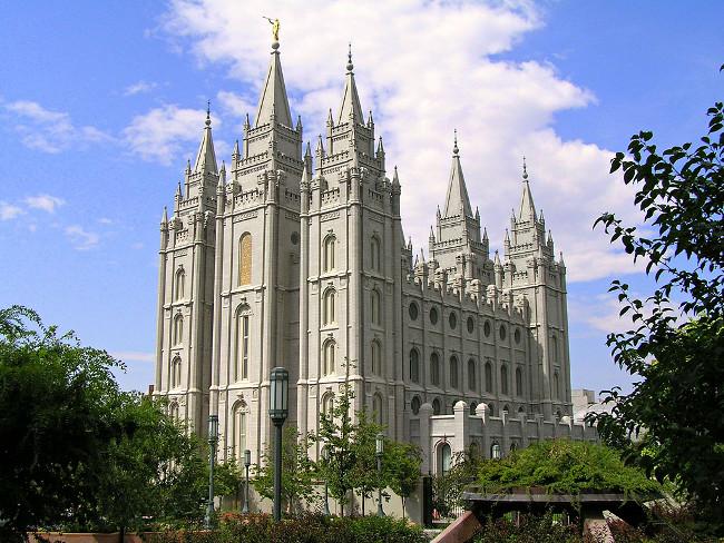 Salt Lake Temple USA