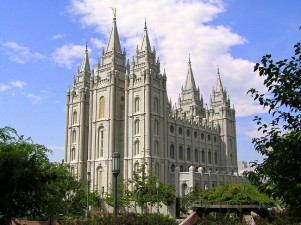 Salt Lake Temple USA