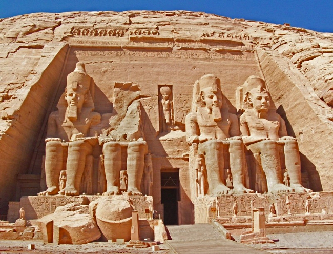 The Temple of Ramesses II Egypt
