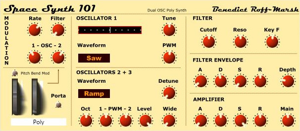 Space Synth 101
