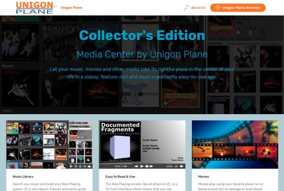 Collector's Edition Media Player