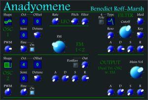 Anadyomene FM Synth