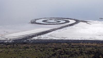 Robert Smithson - Spiral Jetty