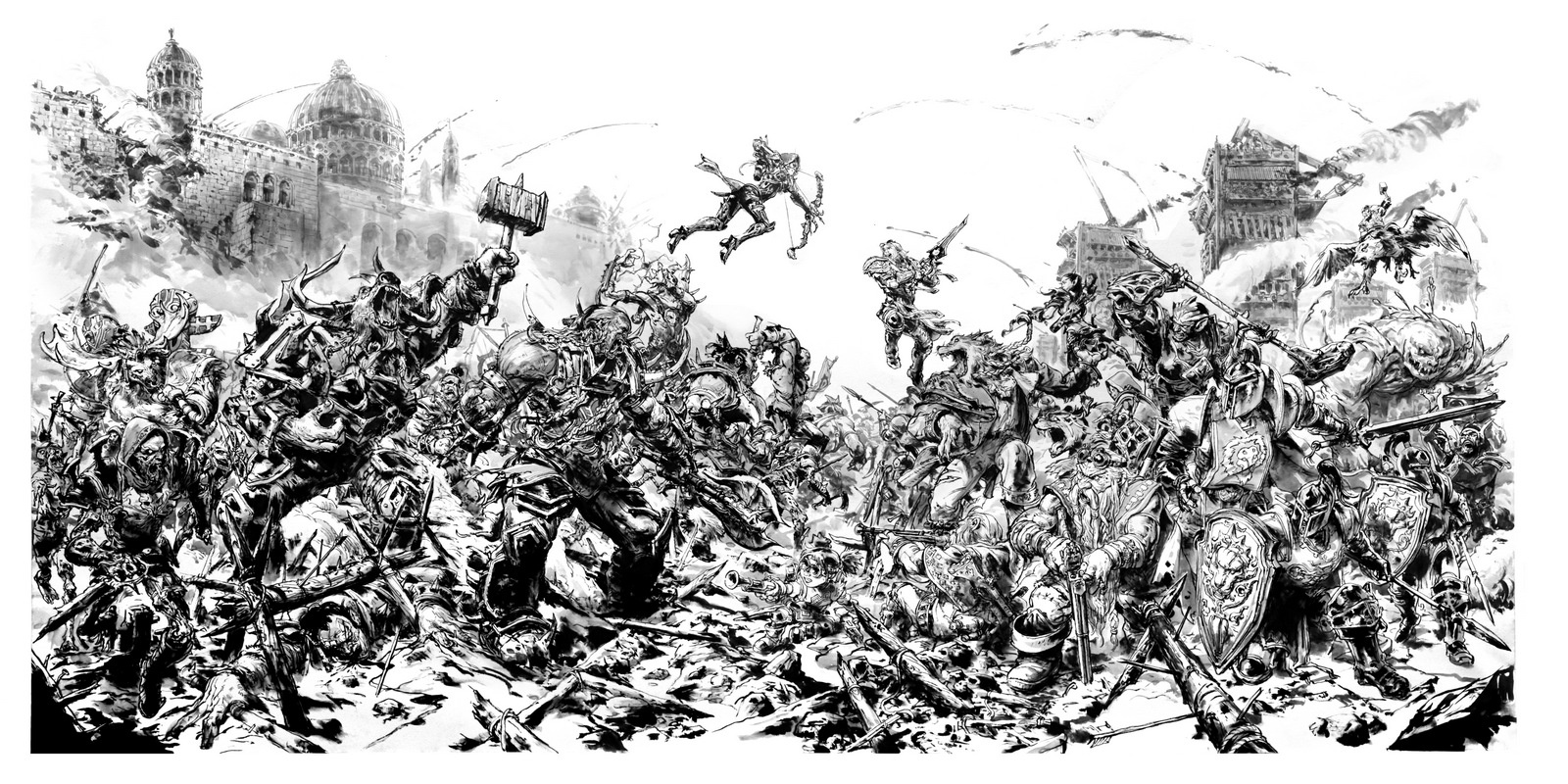 Kim Jung Gi - Siege of Lerdaeron